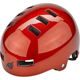 bluegrass Super Bold Dirt-Helm red metallic glossy